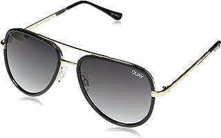 Women's All In Mini Sunglasses, Black/Smoke Fade Lens, One Size