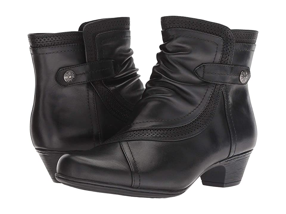 Rockport Cobb Hill Collection Cobb Hill Abbott Panel Boot (Black Leather) Women