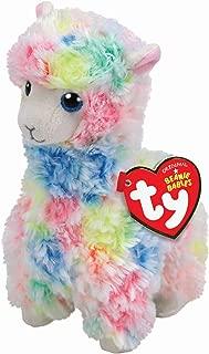 Ty Beanie Babies LOLA - Multicolor Llama reg