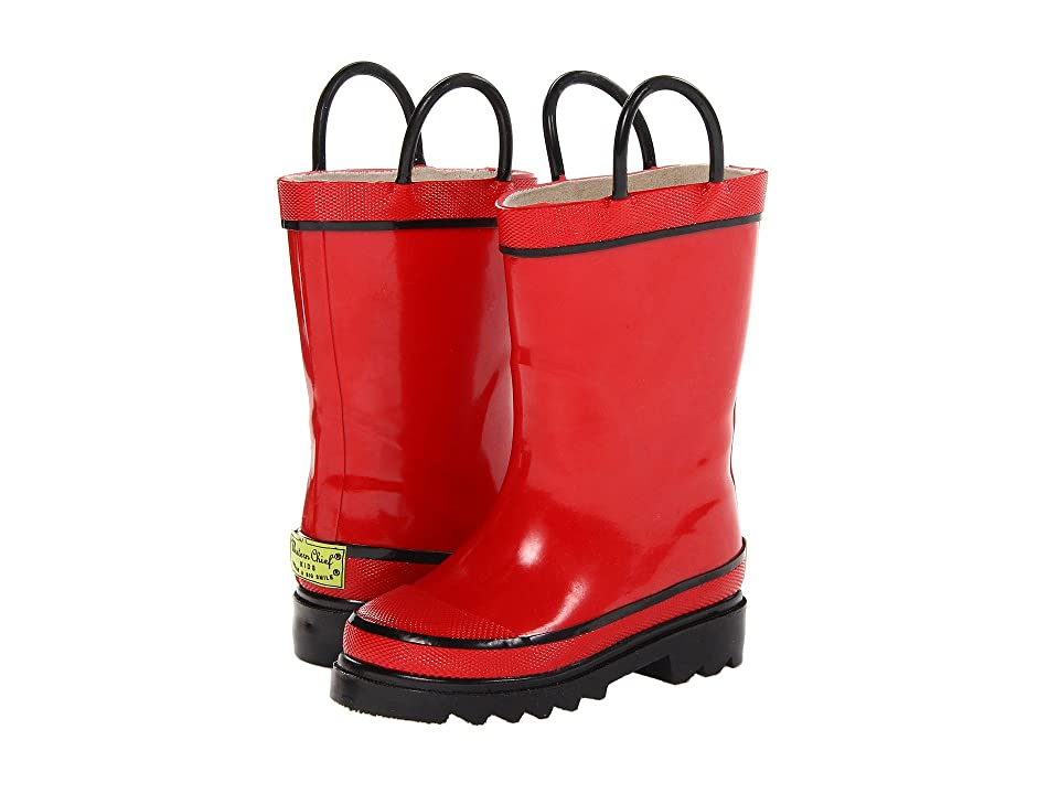 Western Chief Kids Firechief 2 Rainboot (Toddler/Little Kid/Big Kid) (Red) Kids Shoes