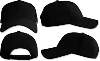 SPORTS CAP FOR MEN, BLACK
