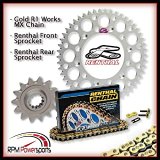 RPM Renthal 520 Chain & 14-50 Sprocket Kit Silver for 2008-2011 KTM 144 SX