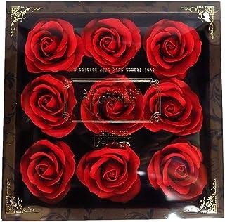バスフレグランス フラワーフレグランス ミニローズフレグランス(L)レッド ギフト お花の形の入浴剤 プレゼント ばら
