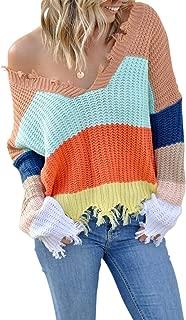 Dearlove Women's Plus Size Striped 3/4 Sleeve T Shirt Scoop Neck Tunic