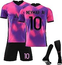 SXMY Parijs Saint-Germain 2021, Mbappé 7# / Neymar 10# / Neymar 11# Voetbalshirt voor kinderen