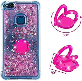 Huawei P10 Lite Case Soft,Hllycr Huawei P10 Lite Back Cover Shock Absorption TPU Rubber Gel #HYYB041696