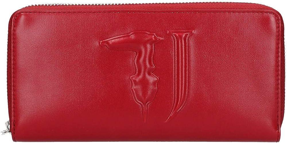 Trussardi portafoglio per donna porta carte di credito in ecopelle 75W00188