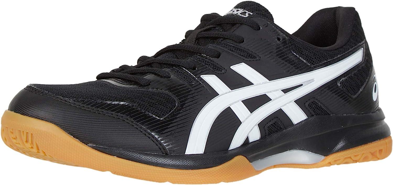 Amazon.com | ASICS Men's Gel-Rocket 9 Volleyball Shoes, 9.5, Black ...