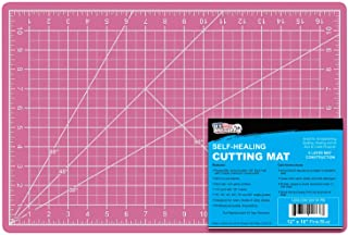 "US Art Supply 12"" x 18"" PINK/BLUE Professional Self Healing 5-Ply Double Sided.."