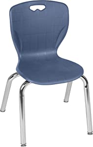 "Regency Stack Chair Andy, 15"", Navy"