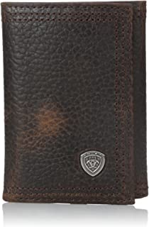 Ariat Men's Rowdy Trifold Brown Wallet