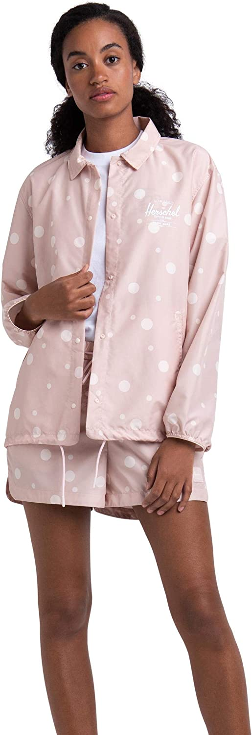 Herschel Womens Voyage Coach Jacket Rose White Class Soda Lowest price challenge Direct stock discount Cameo
