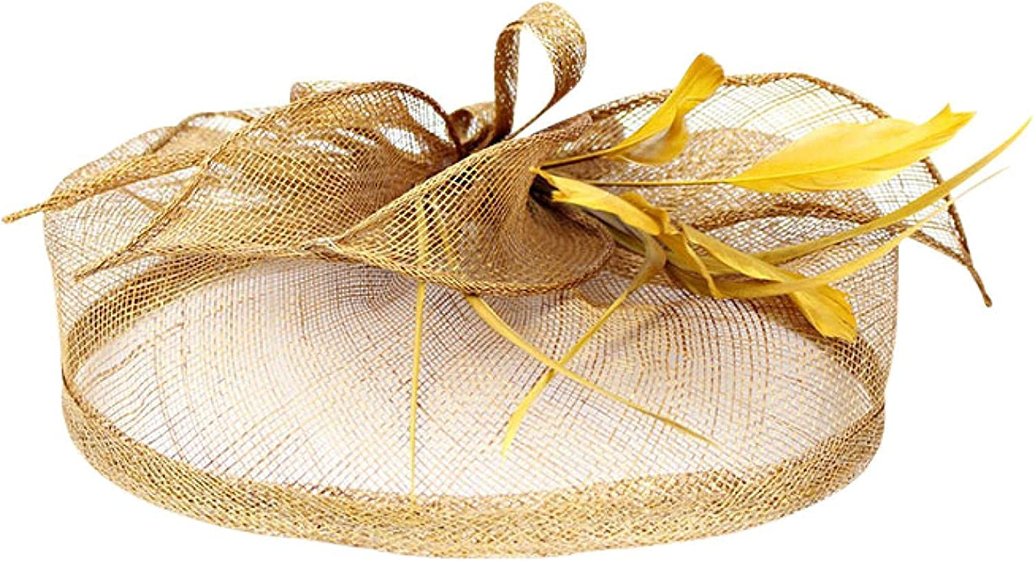 Xiangdanful Hats Suitable for Ladies Girls Cocktail Party Kentucky Wedding Hats