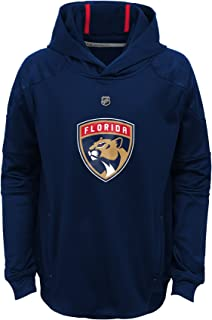 Outerstuff NHL Florida Panthers Kids & Youth Boys Mach Pullover Hoodie, Small(8), True Navy