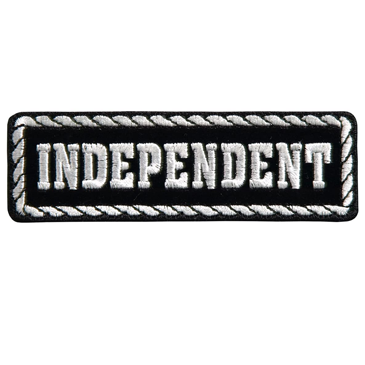 Hot Leathers, OFFICER INDEPENDENT, High Thread Embroidered Iron-On / Saw-On Rayon PATCH - 4