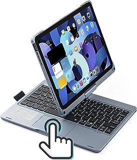 2021 iPadPro11 iPadAir4 キーボード ケース タッチパット搭載 バックライト 360度回転 Apple Pencil 収納 充電 折り畳み iPad Air4 10.9 インチ 2018 2020 iPad Pro11イン...