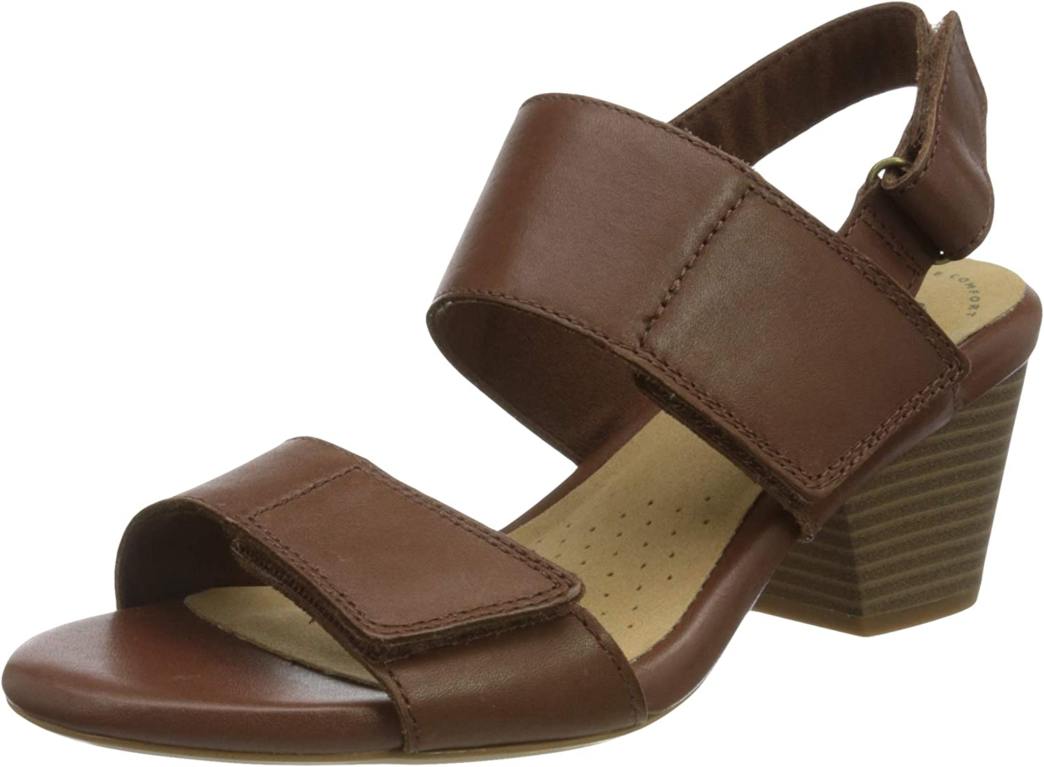 Clarks Girl's Challenge the lowest price of Japan ☆ Ankle-Strap Heeled Max 88% OFF Sandal