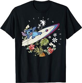 Disney Lilo & Stitch Floral Surf 2002 T-Shirt