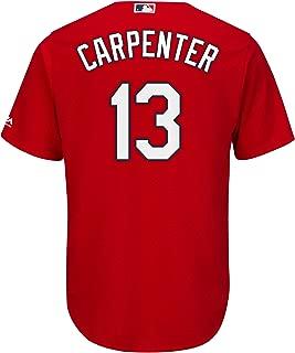Matt Carpenter St Louis Cardinals Red Youth Cool Base Alternate Replica Jersey