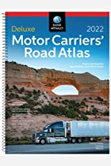 Rand McNally 2022 Deluxe Motor Carriers' Road Atlas (Rand McNally Motor Carriers' Road Atlas DELUXE EDITION) Spiral-bound