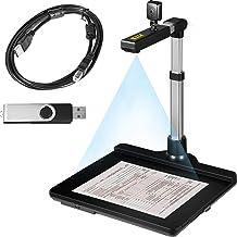 $113 » VEVOR Document Camera for Teachers A3 Scanning Size Book Scanner Dual Lens Book & Document Scanner 10 & 2 Mega-Pixel Porta...