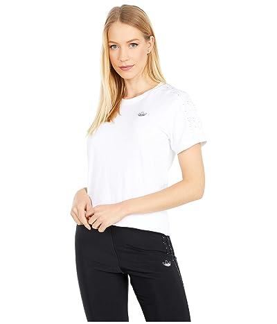 adidas Originals Fakten BB T-Shirt (White) Women