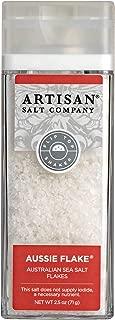 SaltWorks Aussie Flake Australian Sea Salt Flakes Artisan Shaker Jar, 2.5 Ounce