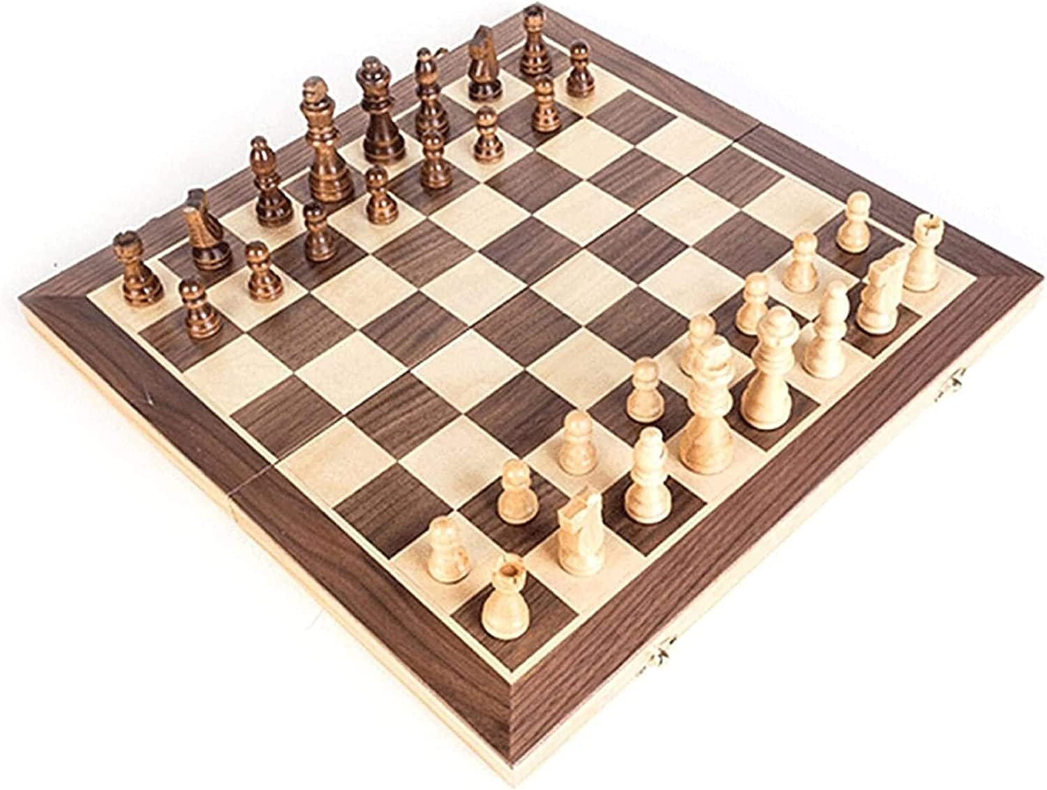 MTCWD Handmade Wooden Chess Sale special Financial sales sale price Wood Set Portable Foldable