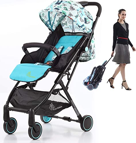R for Rabbit Pocket Stroller Lite Portable Travel Friendly Pre Installed Baby Stroller and Pram for Baby|Kids|Infants...