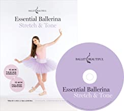 Ballet Beautiful Ballet Workout DVD - Essential Ballerina: Stretch & Tone. Mary Helen Bowers Barre Dance Inspired Fitness DVD