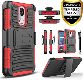Coolpad Legacy Case, [NOT Legacy GO] with [Tempered Glass Screen Protector Included],..