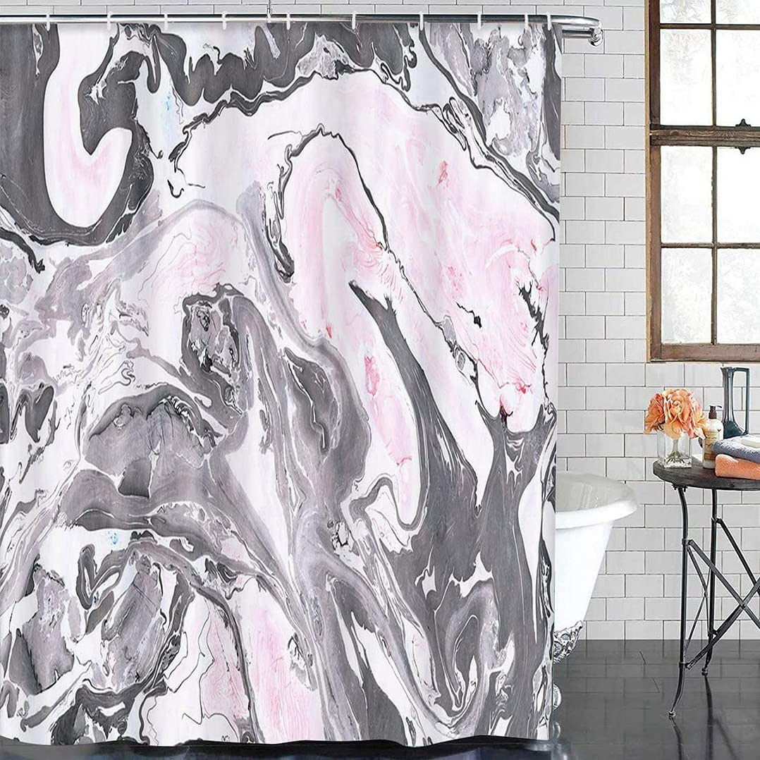 Gray Black Purchase and Pink Marble Abstract Beautiful Water Ink Sale SALE% OFF Painting