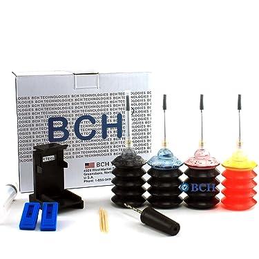 BCH - Kit de recambio de tinta para cartuchos de impresora Inkjet H: 60 61 62 63 64 65 901 902 y más