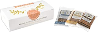 MILKFUL Lactation Bars- Wholesome Alternative to Lactation Cookies - Lactation Supplement for Breastfeeding Moms. Supports Breast Milk Supply. 6 Bar Variety Box- 2 Blue/2 Choc/2 Maple