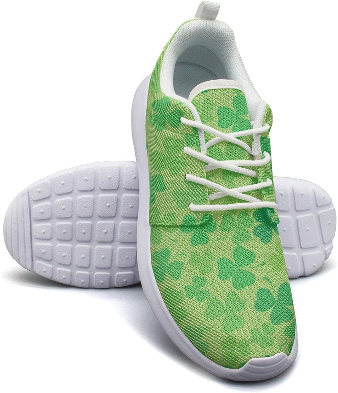 Shamrock Plant Live Green Women's Lightweight Mesh Sneakers shoes Novelty Tennis shoes