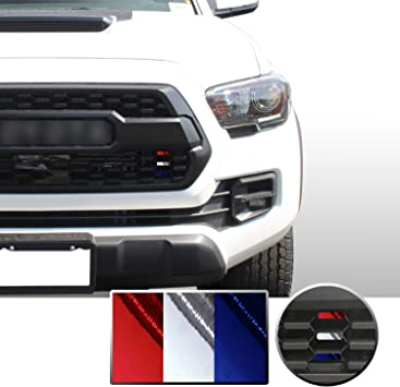 Truck Decal Vinyl Wrap in Blue Car Decal TACO VINYL Tacoma TRD Pro Grille Decals