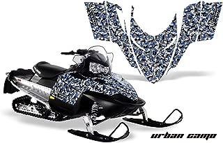 Polaris Shift, RMK, Assault AMRRACING Sled Graphics Decal Kit - Urban Camo - Blue