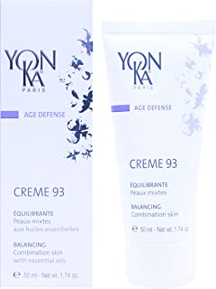 YONKA AGE DEFENSE CREME 93 Equilibrante Day Cream - Balancing Day Cream for Combination Skin Types (1.7 Ounce / 50 Milliliter)