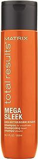 Matrix - Total Results Mega Sleek Shampoo Anti-crespo Lisciante per Capelli Crespi, 300 ml