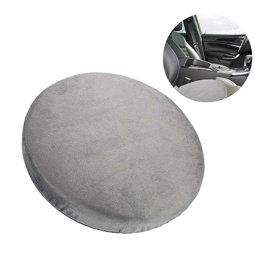 マナーカバーベイビーの座席クッション、360°回転クッション車のオフィスおよび家の使用のための滑り止めの回転イスのパッドは腰痛および圧力を取り除く