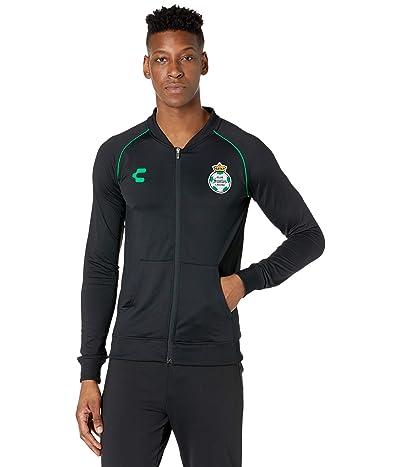CHARLY Santos Laguna Light Jacket (Black/Green) Men
