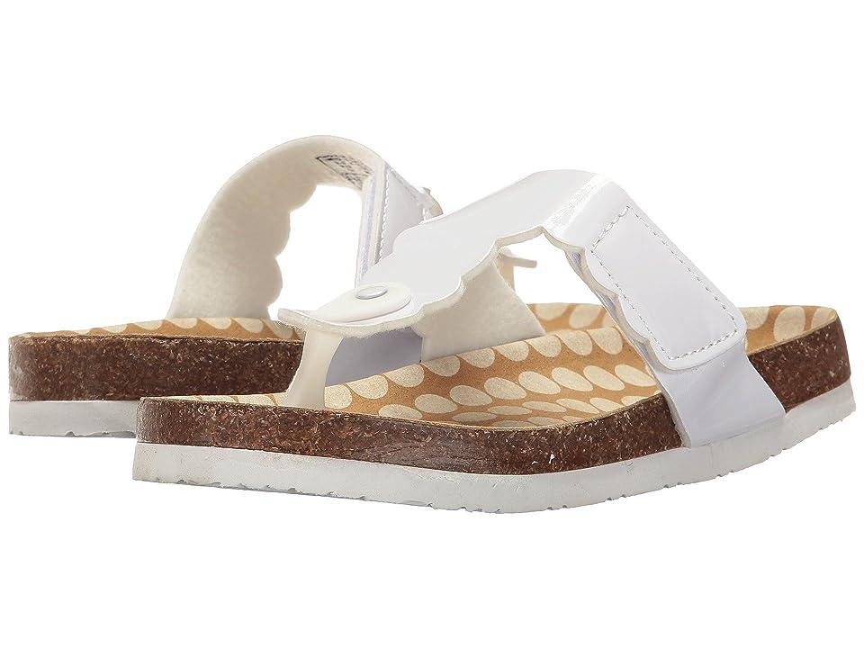 Morgan&Milo Kids Tucson Thong (Toddler/Little Kid) (White) Girls Shoes