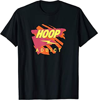 Hoop Addict Cool Basketball T-Shirt