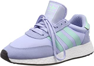 adidas I-5923 Suede Textile Periwinkle Clear Mint Womens Trainers 7 UK