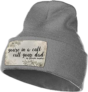 f72ac422846 You re in A Cult Call Your Dad My Favorite Murder Podcast Unisex Woolen Cap
