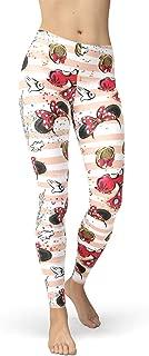 Rainbow Rules Minnie Best Day Ever Disney Inspired Winter Leggings - Fleece, Full Length, Mid/High Waist