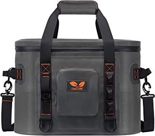 F40C4TMP Soft Cooler Bag 32 Cans, Leak-Proof Portable Insulated Cooler, Soft Side Carrier Cooler for Outdoor Fishing, Trips, Picnic