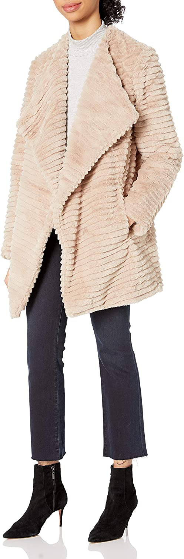BB DAKOTA Women's Fab Moment Faux Fur Jacket