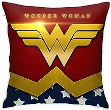 MARUKQW Wonder Woman Shield Soft Wearable Throw Pillow 15.75 INCH