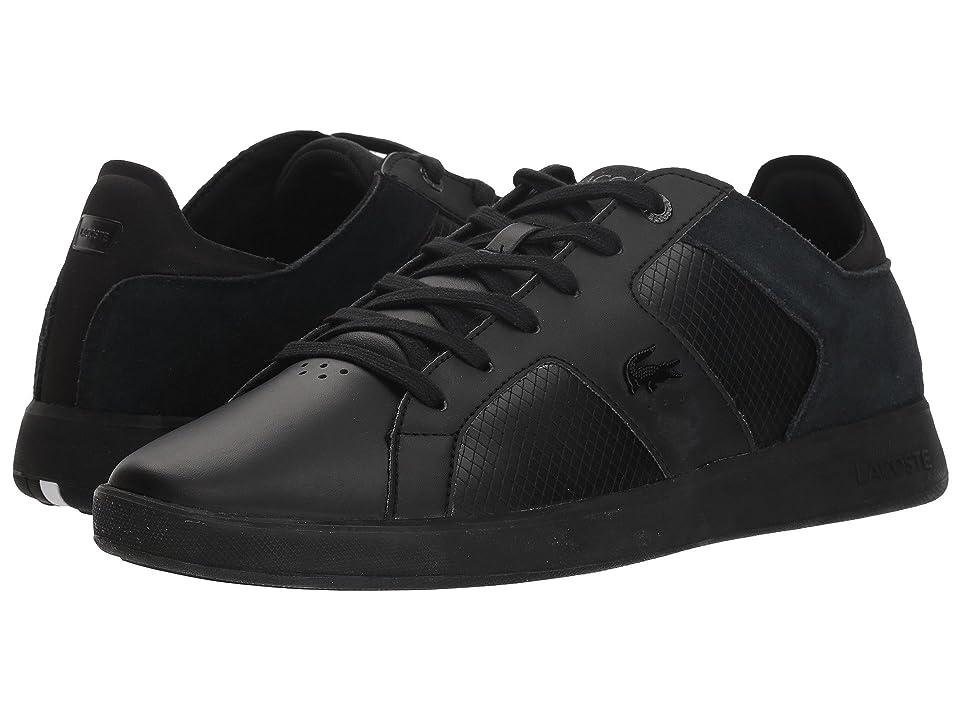 Lacoste Novas 318 3 (Black/White) Men